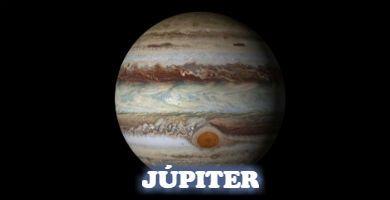 El más grande del Sistem solar, el planeta Júpiter