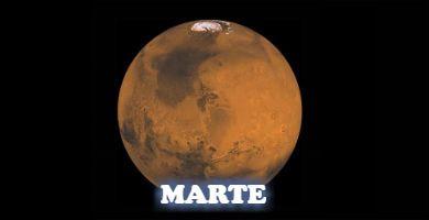 EL rojo, el planeta Marte
