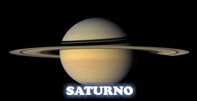 El de los anillos, el planeta Saturno