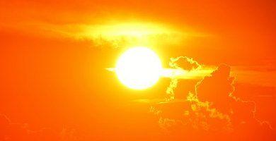 El Sol visto desde la Tierra
