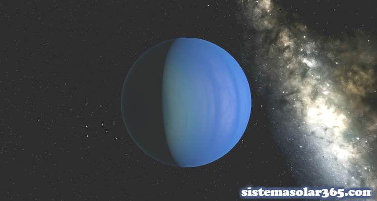 El planeta Urano a más de 2.720 millones de kilómetros de la Tierra