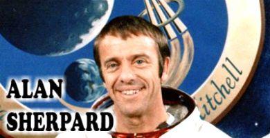 El primer astronauta en el espacio, Alan Sherpard