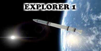 Mision Explorer 1, el primer satélite en orbitar de la NASA