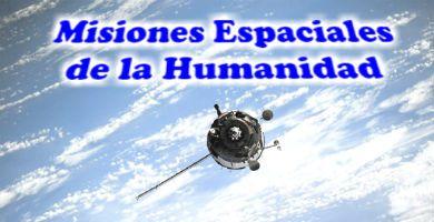 Misiones espaciales al Universo