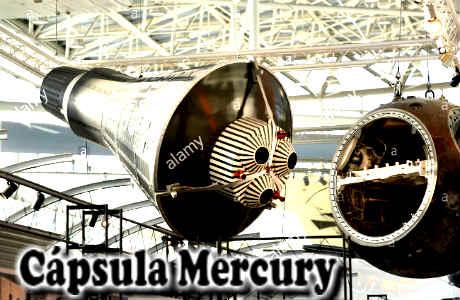 El primer astronauta en el espacio, viajó con la cápsula Mercury