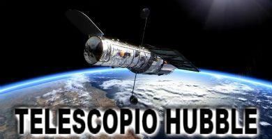 telescopio hubbel en orbita por la Tierra