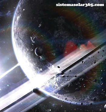 Objetos que obritan el planeta Saturno