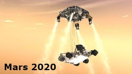 El robot Mars 2020, tiene previsto encontrar vida extraterrestre en Marte