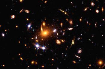 descubrimiento de galaxias