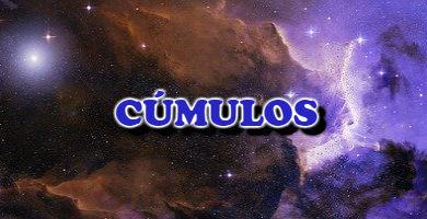 cúmulos en el Universo
