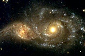 Los tipos de galaxias espirales