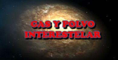 El gas y el polvo de la galaxia