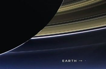 La sonda Cassini fotografío la Tierra desde Saturno
