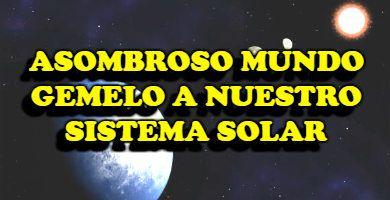 TOI 700 es un sistema planetario al nuestro