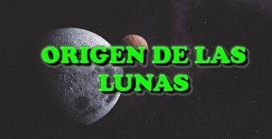 El origen de las lunas en el sistema solar
