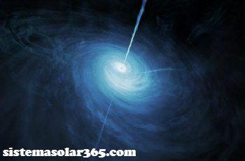 Un quasar se forma a partir de un agujero negro