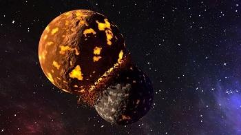 Choque de planetas y formación de estrellas y planetas