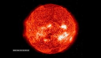 manchas en el sol octubre 2003