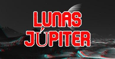 todos los satélites Lunas de júpiter