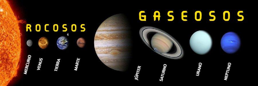 los 8 planetas del sistena solar