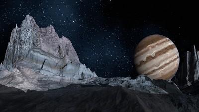 satélites de júpiter y lunas