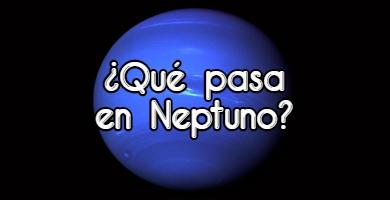 Manchas en Neptuno