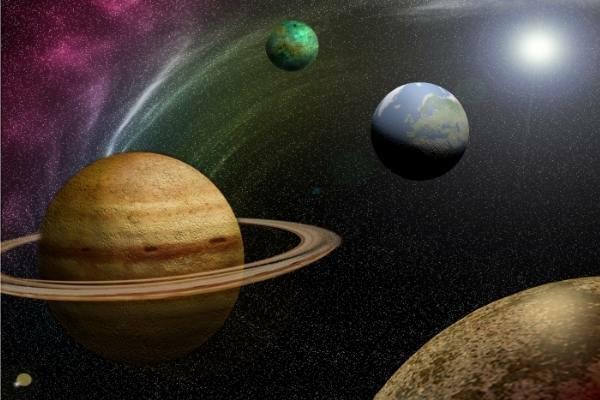 como se creo el sistema solar
